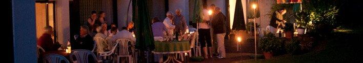 <span>Feste feiern</span> in familiärer Atmosphäre